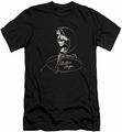 Bettie Page slim-fit t-shirt Whip It mens black