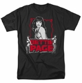 Bettie Page t-shirt Bettie Scary Hot mens black