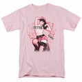Bettie Page t-shirt Censored Legend mens pink