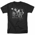 Bettie Page t-shirt Center Of Attention mens black