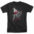 Bettie Page t-shirt Monkey Business mens black