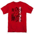 Bettie Page t-shirt Shake It mens red