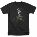 Bettie Page t-shirt Whip It! mens black