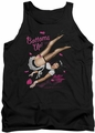 Bettie Page tank top Bottoms Up mens black
