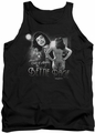 Bettie Page tank top Center Of Attention mens black