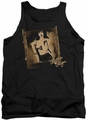Bettie Page tank top Exposed mens black