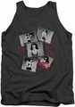 Bettie Page tank top Exposure mens charcoal