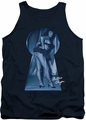 Bettie Page tank top I See You mens navy