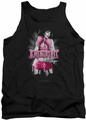 Bettie Page tank top Knockout mens black