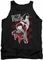 Bettie Page tank top Over A Chair mens black
