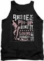Bettie Page tank top Punk Style mens black
