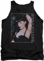 Bettie Page tank top Seductress mens black