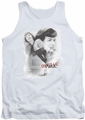 Bettie Page tank top Transparent Bands mens white