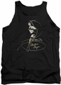 Bettie Page tank top Whip It! mens black