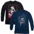 Betty Boop adult long-sleeved shirts