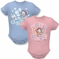 Betty Boop baby snapsuits