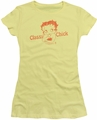 Betty Boop juniors sheer t-shirt Classy Chick banana