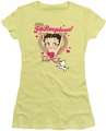 Betty Boop juniors sheer t-shirt Fabooplous! banana