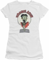 Betty Boop juniors t-shirt Breezy Zombie Love white