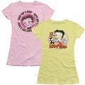 Betty Boop juniors t-shirts