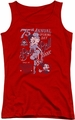 Betty Boop juniors tank top Boop Ball red
