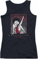 Betty Boop juniors tank top Captivating black