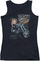 Betty Boop juniors tank top Choppers black