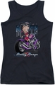 Betty Boop juniors tank top City Chopper black