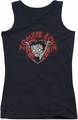 Betty Boop juniors tank top Heart You Forever black