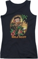 Betty Boop juniors tank top Hula Boop II black