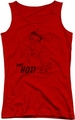 Betty Boop juniors tank top Nimble Betty red