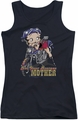 Betty Boop juniors tank top Not Your Average Mother black