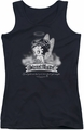 Betty Boop juniors tank top Street Angel black