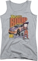 Betty Boop juniors tank top Team Boop athletic heather