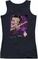 Betty Boop juniors tank top Unforgettable black