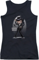 Betty Boop juniors tank top Vegas Baby black