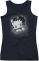Betty Boop juniors tank top Vintage Star black