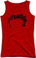 Betty Boop juniors tank top Word Hair red