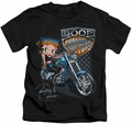 Betty Boop kids t-shirt Choppers black