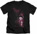 Betty Boop kids t-shirt Cutie black