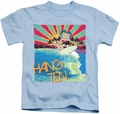 Betty Boop kids t-shirt Hang Ten light blue