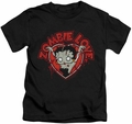 Betty Boop kids t-shirt Heart You Forever black