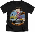 Betty Boop kids t-shirt Keep On Boopin black