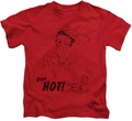 Betty Boop kids t-shirt Nimble Betty red