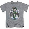 Betty Boop kids t-shirt NYC athletic heather