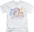 Betty Boop kids t-shirt Peek A Boo white