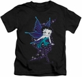 Betty Boop kids t-shirt Sparkle Fairy black
