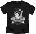 Betty Boop kids t-shirt Street Angel black