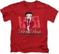 Betty Boop kids t-shirt Timeless Beauty red
