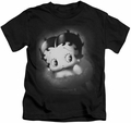 Betty Boop kids t-shirt Vintage Star black